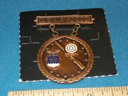 Us Air Force Rifle Shooting Medal Badge In Bronze Usaf - New G 23