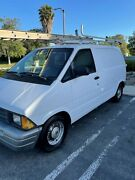 1990 Ford Aerostar Cargo Only A Few Hundred Miles On A Rebuilt Motor.