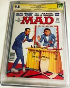 Cgc 9.8 Ss Mad Magazine 273 Signed By Pee-wee Herman Paul Reubens 1987
