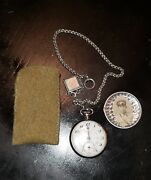 Ww2 Japanese Imperial ● Rare Rail Pocket Watch ● Collectible Original Military