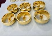 1963 63 Impala 24k Gold Plated Tail Light Ring Ornament