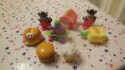 Mcdonalds Wind-up And Transformers Vintage Happy Meal Toy Lot 1980s 1990s 8 Pcs