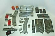 Lionel Big Lot Of 0/27 Steel Tracks For Your O Gauge Trains And Some Switches
