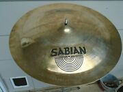 Sabian Aa 22 Chinese China Crash Discontinued Brilliant Finish-excellent