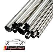 T304 63.5 Mm 2.5 Approx Stainless Steel Tube Exhaust Pipe All Lengths Available
