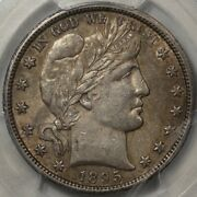 1895-o Barber Half Dollar Pcgs And Cac Au-58 Pop 6 In 58/cac