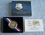 2021-s National Law Enforcement Memorial And Museum Proof Clad Half Dollar