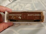 Athearn N Scale 50' Ps-1 Boxcar Western Maryland
