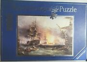 Ravensburger 9000 Piece Bombardment Of Algiers Sealed Bags Of Puzzle Pieces Htf