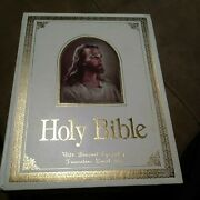 Holy Bible Large King James Red Letter Regency 700w Concordance And Dictionary