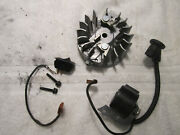 Homelite Super 2 Chainsaw - Coil And Flywheel With Switch