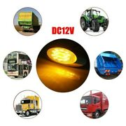 16led Side Marker Lights Trailer Truck Parts Replacement 1.2w Stop 12v