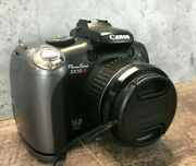 Canon Powershot S3 Is Pc1304 Digital Camera In Working Condition Unit Only