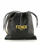 Fendi Pack Pouch Crossbody Bag Leather Small