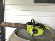 Vintage 1970's Poulan 306a Chainsaw -working Chain Saw- 16 Inch Bar