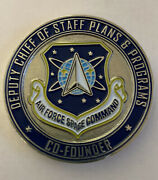 Air Force Space Command Deputy Chief Of Staff Co-founder Challenge Coin F15