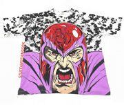 Chronic Images 2021 Marvel And039magnetoand039 Mega All Over Print T Shirt Xl Tee New