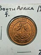 1948-d South Africa Uncirculated 1/4 Penny Foreign Coin 412