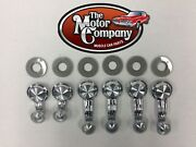 1970 1971 1972 Monte Carlo Vent And Window Crank Handle Kit 6pc Clear Knob