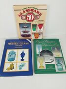 Book Set Elegant Collectible Glassware 1920s - 1960s Depression Heisey And More