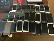 Lots Of 26 Galaxy S4 S3 And Mini Unlocked With Any Carrier No Battery
