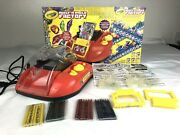 Crayola Melt N Mold Factory Used In Box Complete With Crayons - Toy Arts Crafts