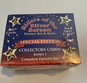 Riders Of The Silver Screen Collectors Cards Series 1 Factory Sealed Set