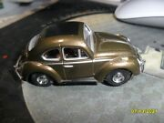 Auto World Slot Car Vw Beetle Bronze...sold Out...new Chassis....vincent Wheels