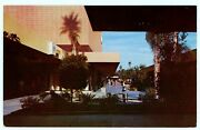 1950and039s Riverside Plaza Mall Outdoor Shops California Mid Century Postcard Ca