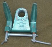 Vintage Cosom Transom Clamp Assembly For Marine Outboard Boat Trolling Motor