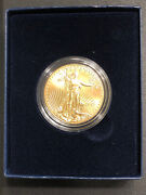 2013 Uncirculated American Eagle One Ounce Gold Coin With Box And Coa