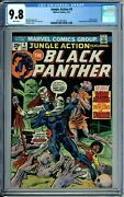 Jungle Action 9 Cgc 9.8 Wp Black Panther 1st Baron Macabre New Cgc Case Marvel