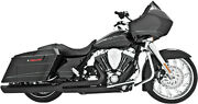 Freedom Performance Union 2-into-1 Exhaust System Black Hd00233