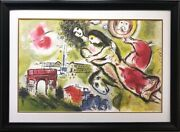 Marc Chagall Romeo And Juliet Rare Custom Framed Limited Art Shakespeare