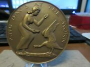 1958 Society Of Medalists 57 Pippa's Song By Charles Rudy Maco