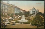 Hungarian Judaica Picture Postcard Of Pecs Neolog Reform Synagogue, Used And Taxed