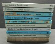 9pc Mixed Lot 1946-1968 Bible Study Books Convention Press And Southern Baptist