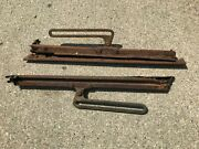 Model A Ford Front Window Windshield Frame Sides Hinges And Brackets Swing Arms