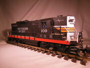 Lionel Large Scale Southern Pacific Black Widow Gp9 Loco Sound G Scale