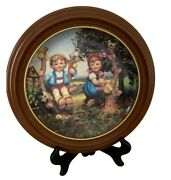M J Hummel Little Companions Apple Tree Boy And Girl Collectable Plate Danbury M