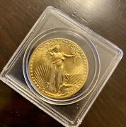 1987 American Eagle 50 Gold 1 Oz Flawless Uncirculated