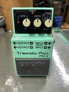 Boss Pn-2 Tremolo/pan Rare Effect Pedal Stompbox Fully Tested Discontinued