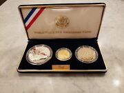 1991-1995 World War 2 50th Anniversary Commemorative Coins 90 Gold 5 Coin