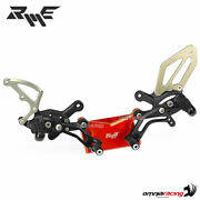 Robby Moto Sbk Rear Sets In Black Ergal For Ducati Panigale 1299