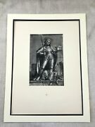1911 Antique Print Holbein The Younger Limited Edition St Adrian Altar Painting