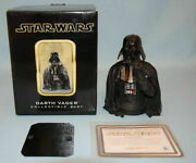 Gentle Giant Collectible Bust Darth Vader 2002 Ap Version Figure Rare From Japan