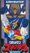 Takara Microman Robot Man God Fighter Used Vintage Toys With Box From Japan