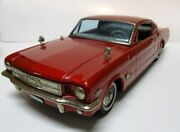 Ford Mustang Mach Metallic Red 400mm Nomura Toy Friction Tinplate Vehicle Japan