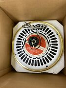 Casablanca Saturn Series Fan 21211t Snow White. New. Might Be Missing Parts.