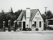 Vintage Phillips 66 Gas Station Photos Pumps 2 Greeley Garden City Co 1938